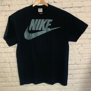 Vtg 90s Nike Big Logo Spell Out T-shirt